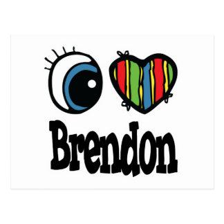 I corazón (amor) Brendon Postal