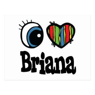 I corazón (amor) Briana Postal