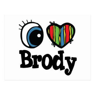 I corazón (amor) Brody Postal