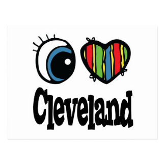 I corazón (amor) Cleveland Postal