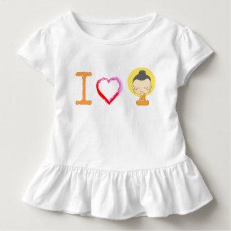 I corazón Buda Camiseta De Bebé