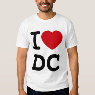 I (corazón) DC Camisetas