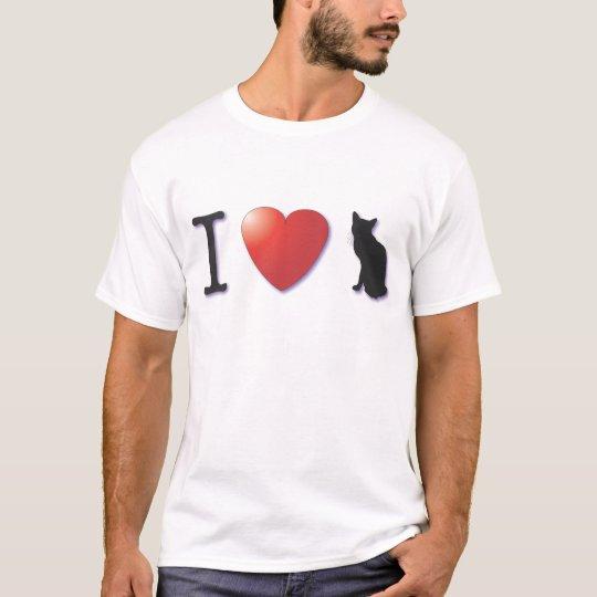 ¡I corazón Kittycats! Camiseta