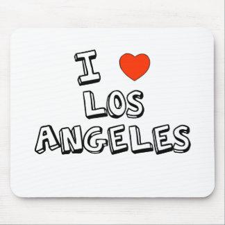 I corazón Los Ángeles Alfombrilla De Ratón