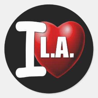 I corazón Los Ángeles - LA del amor de I Pegatina
