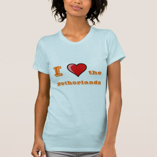 I corazón los Países Bajos Camisetas