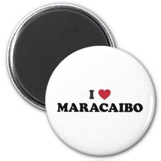 I corazón Maracaibo Venezuela Imán Redondo 5 Cm