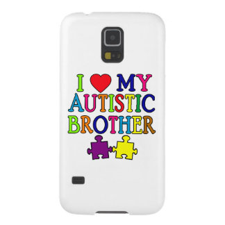 I corazón mi Brother autístico Carcasa Para Galaxy S5