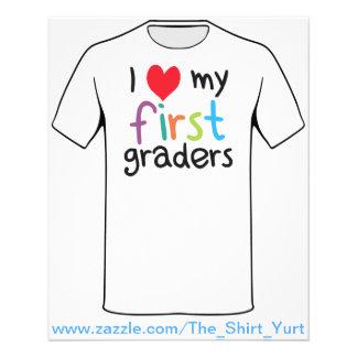 I corazón mi primer amor del profesor de los gradu tarjeton