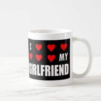 I corazón mi taza de la novia