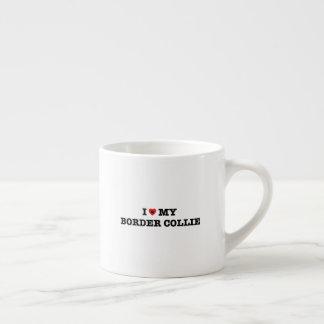 I corazón mi taza del café express del border