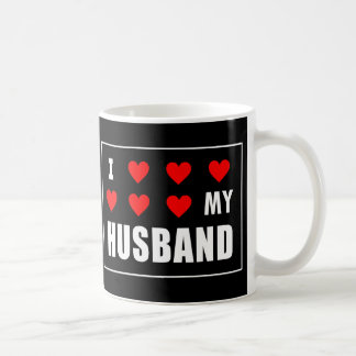 I corazón mi taza del marido