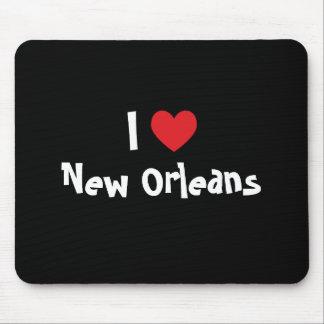I corazón New Orleans Alfombrilla De Ratón
