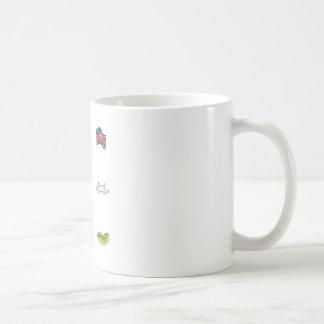 I corazón Reino Unido, amor británico, señales Taza De Café