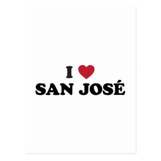I corazón San José Costa Rica Postal