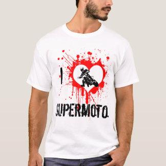 I corazón Supermoto Camiseta