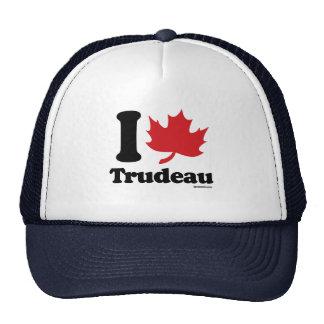 I corazón Trudeau - hoja de arce - .png Gorras