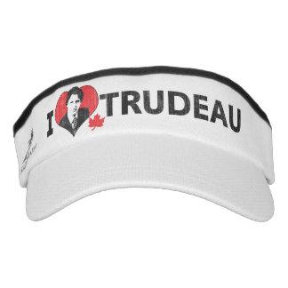 I corazón Trudeau Visera