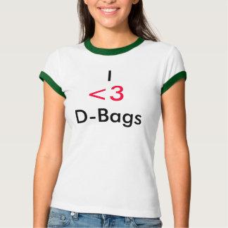 I                                D-Bolsos, <3 Camiseta