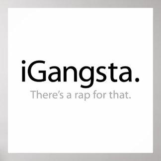 i Gangsta - hay un rap para eso Impresiones