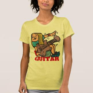I guitarra - guitarra de adaptación del camiseta