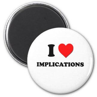 I implicaciones del corazón imán de frigorifico