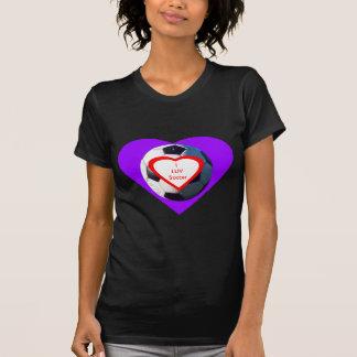 I jGibney del balón de fútbol de LUV los regalos Camisetas