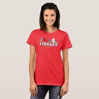 I la camisa de las mujeres de la biblioteca del
