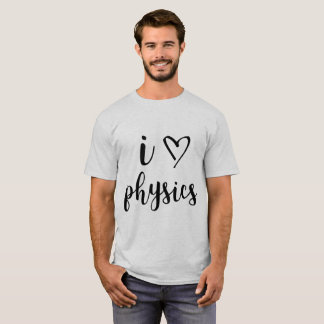 I la camisa de los hombres de la física del