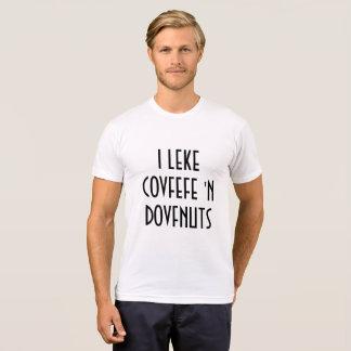 I la camisa de los hombres divertidos de N