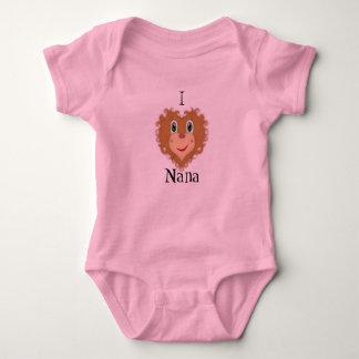 I León-Corazón Nana Body Para Bebé