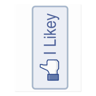 I Likey Facebook Postal