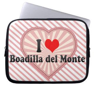 I Love Boadilla del Monte, España Manga Portátil