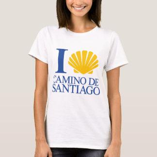 I Love Camino de Santiago Camiseta