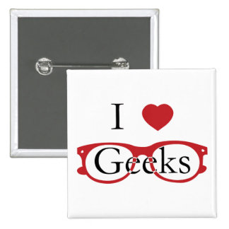 I Love Geeks - M1 Pins