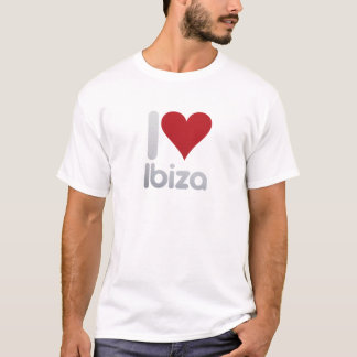 I LOVE IBIZA CAMISETA