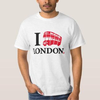 I LOVE LONDON CAMISETA