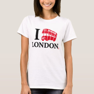 I-LOVE-LONDON-D.DECKER-BUS-EDITION CAMISETA