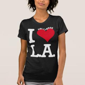 I LOVE LOS ANGELES HOLLYWOOD EDITION CAMISETA