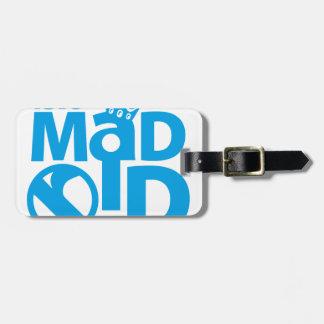 I Love Madrid Crown & Sign ED. Etiqueta Para Maletas