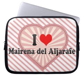 I Love Mairena del Aljarafe, España Funda Portátil
