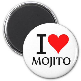 I Love Mojito 2 Iman De Frigorífico