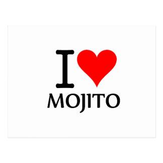 I Love Mojito 2 Postales