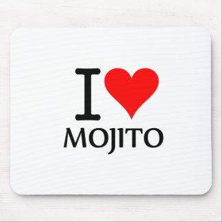 I Love Mojito 3 Alfombrilla De Ratón