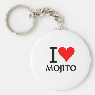 I Love Mojito 3 Llavero Personalizado
