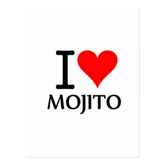 I Love Mojito 3 Postales