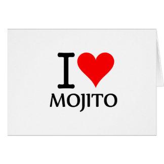 I Love Mojito 3 Tarjeta