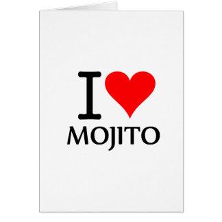 I Love Mojito 3 Tarjetas
