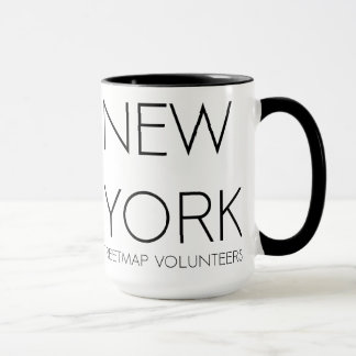 I love New York. OpenStreetMap Taza