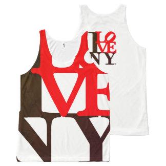 I Love NY New York S. Edition Camiseta De Tirantes Con Estampado Integral